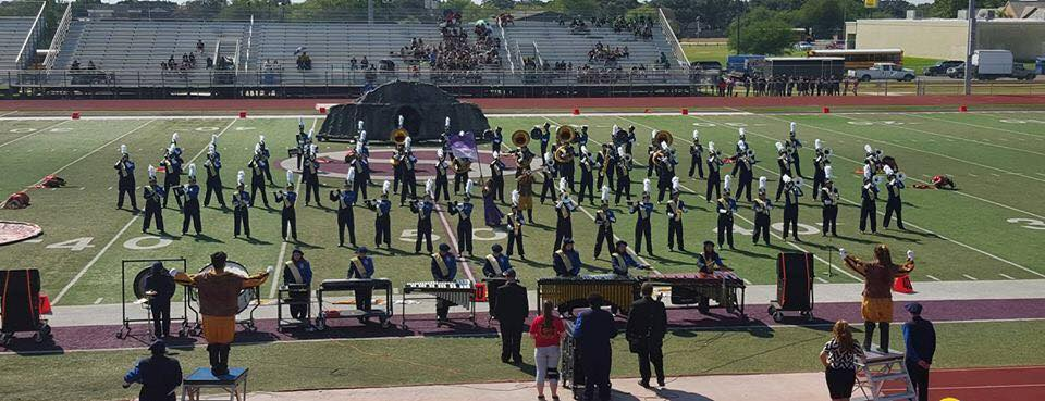 The Spirit of OHS at Region Marching Contest October 17th, 2015. Rating of 1-1-1